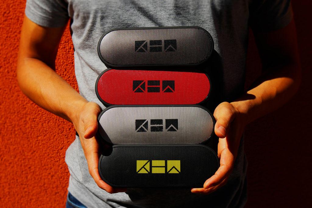 K1 portable speaker